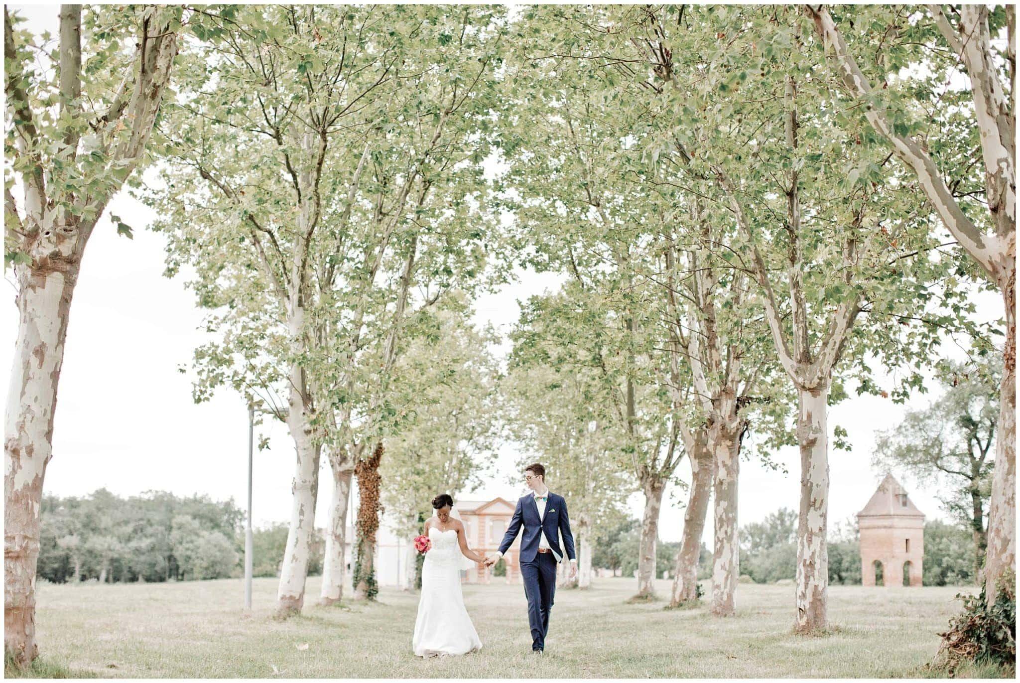 Mariage intime à Toulouse d'Agnès et Kevin