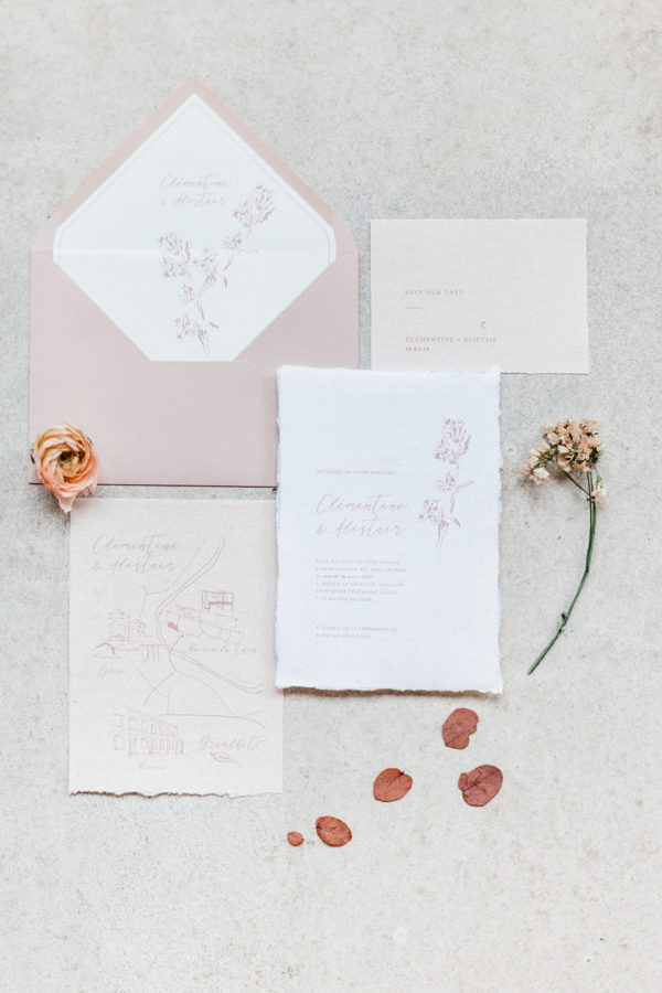 papeterie de mariage wedding stationery