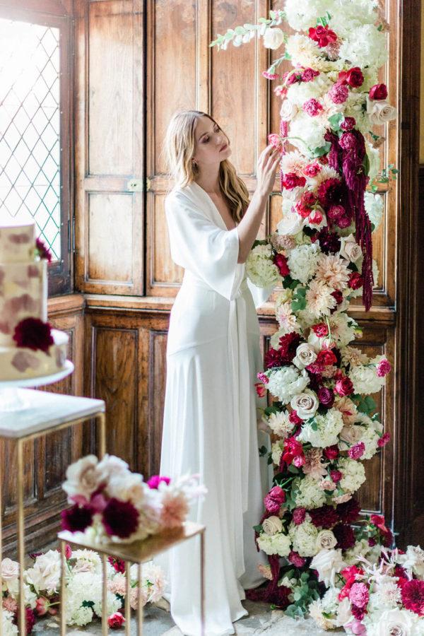 décoration florale mariage château Saint-Martory