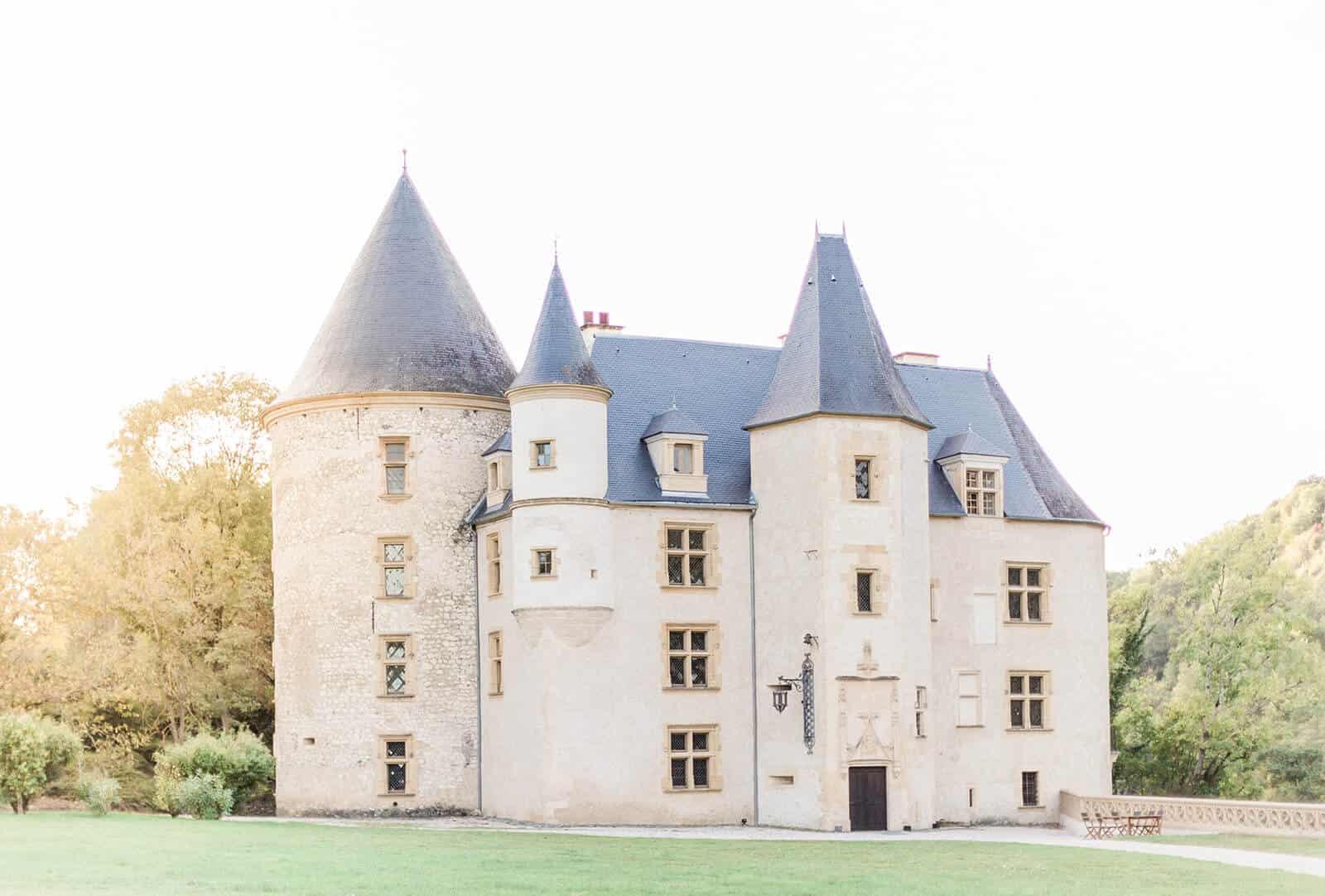 mariage au château saint martory