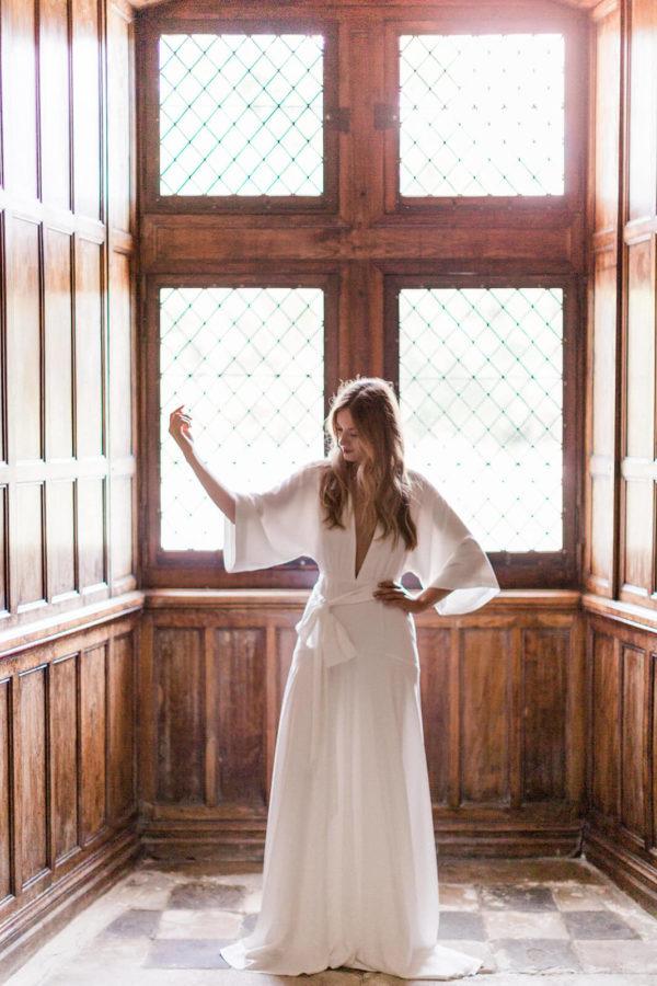 robe charly brear au château de Saint-Martory