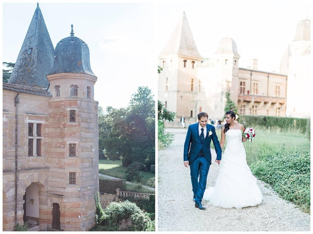 wedding chateau caumont