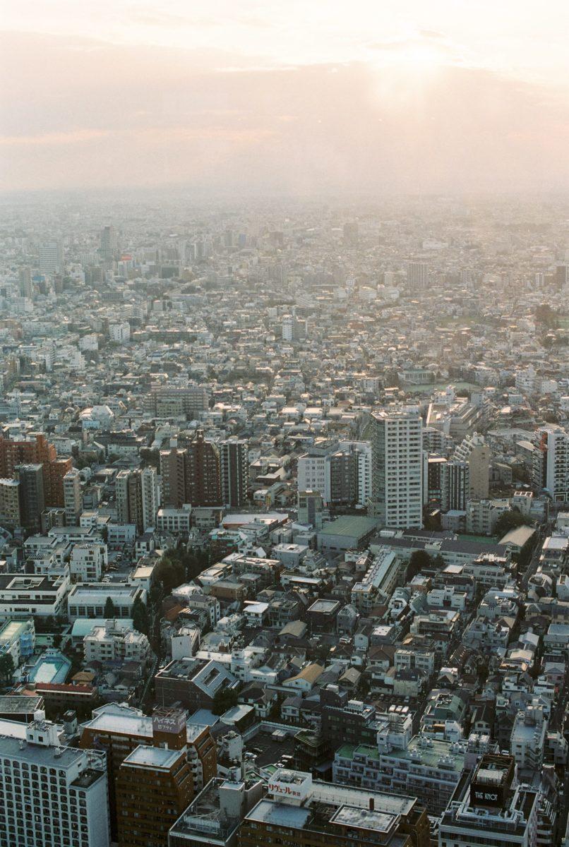 photo de tokyo au japon depuis gratte ciel