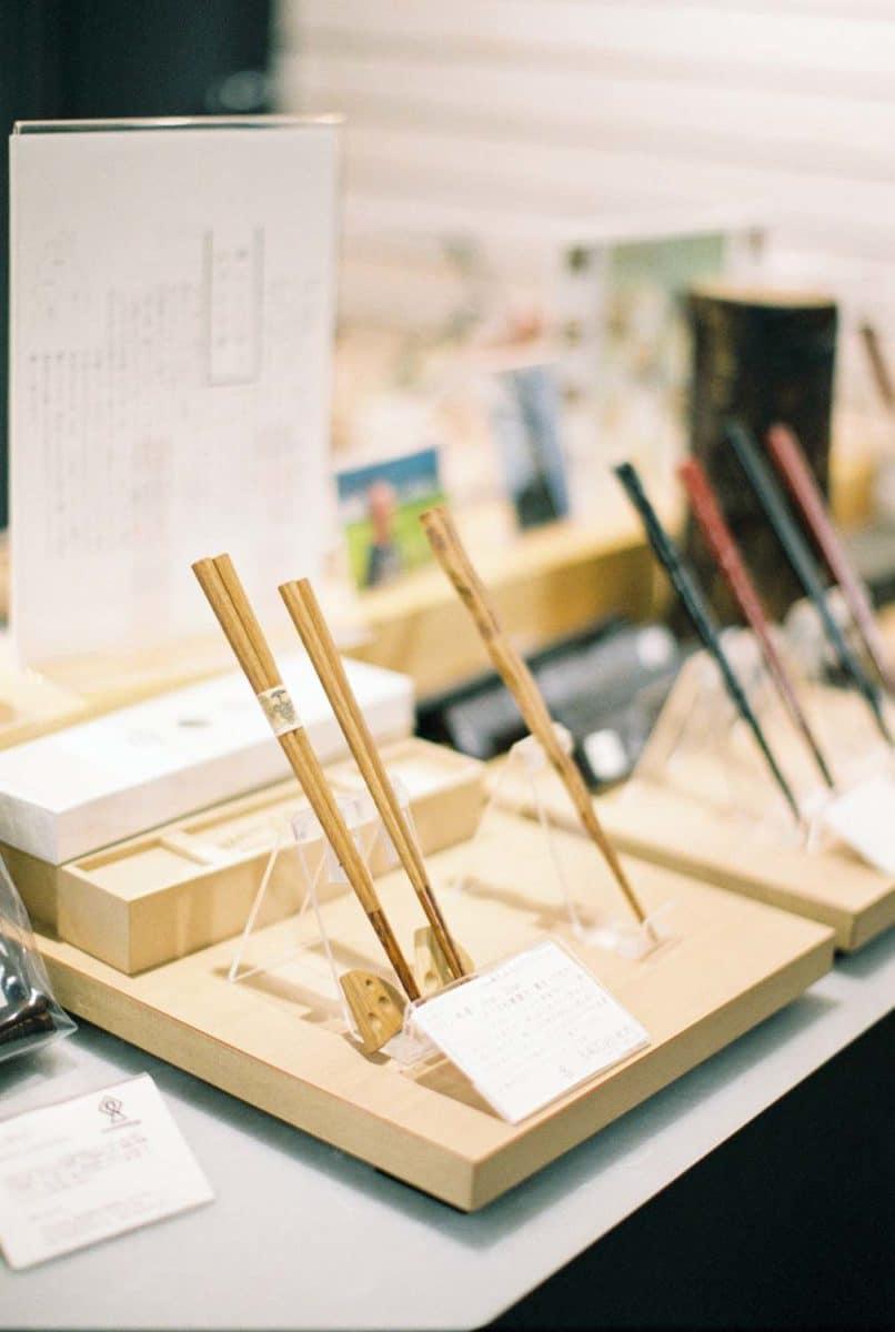 baguette japonaise prise en photo par un photographe de mariage