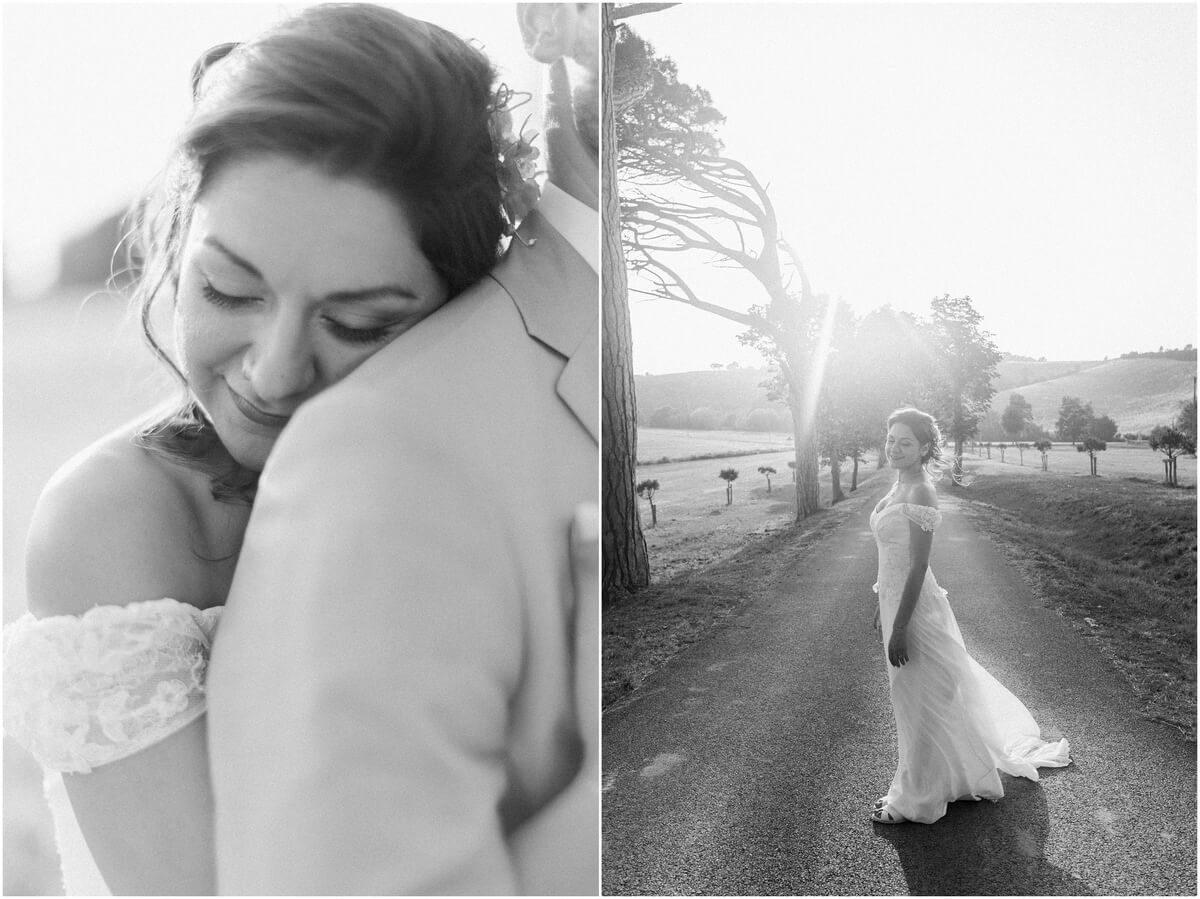 diptyque de la mariée au domaine de ronsac