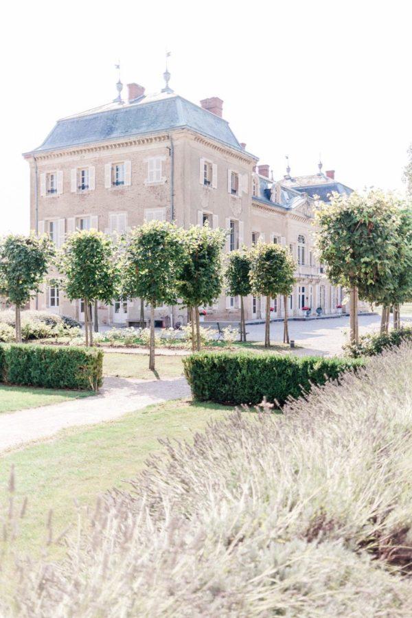 front of château de Varennes