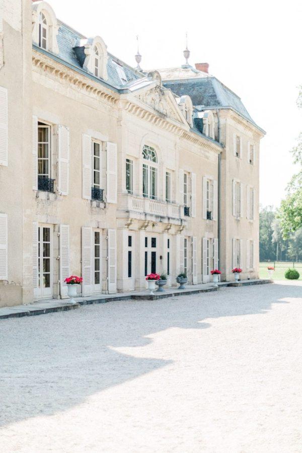 façade du château de Varennes