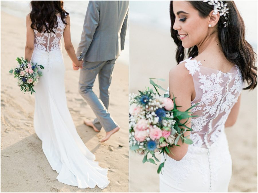 dyptique bouquet de la mariée à anglet