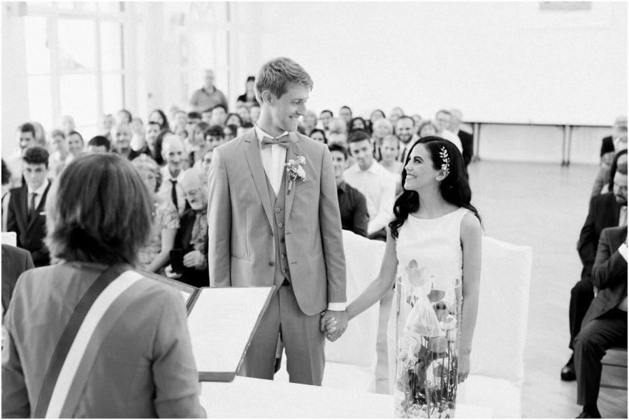 mariés dans la mairie d'anglet