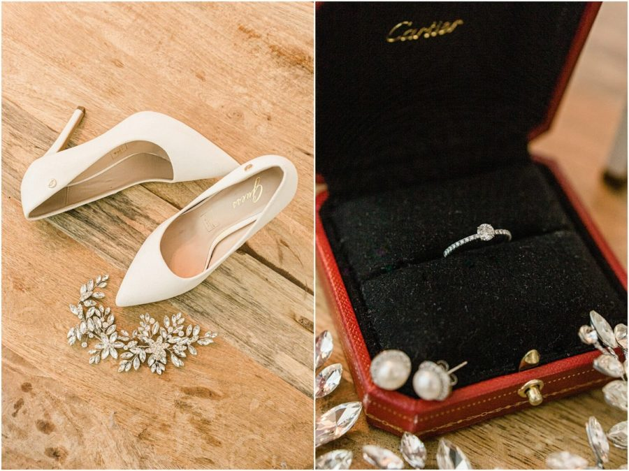 getting ready shoes cartier ring