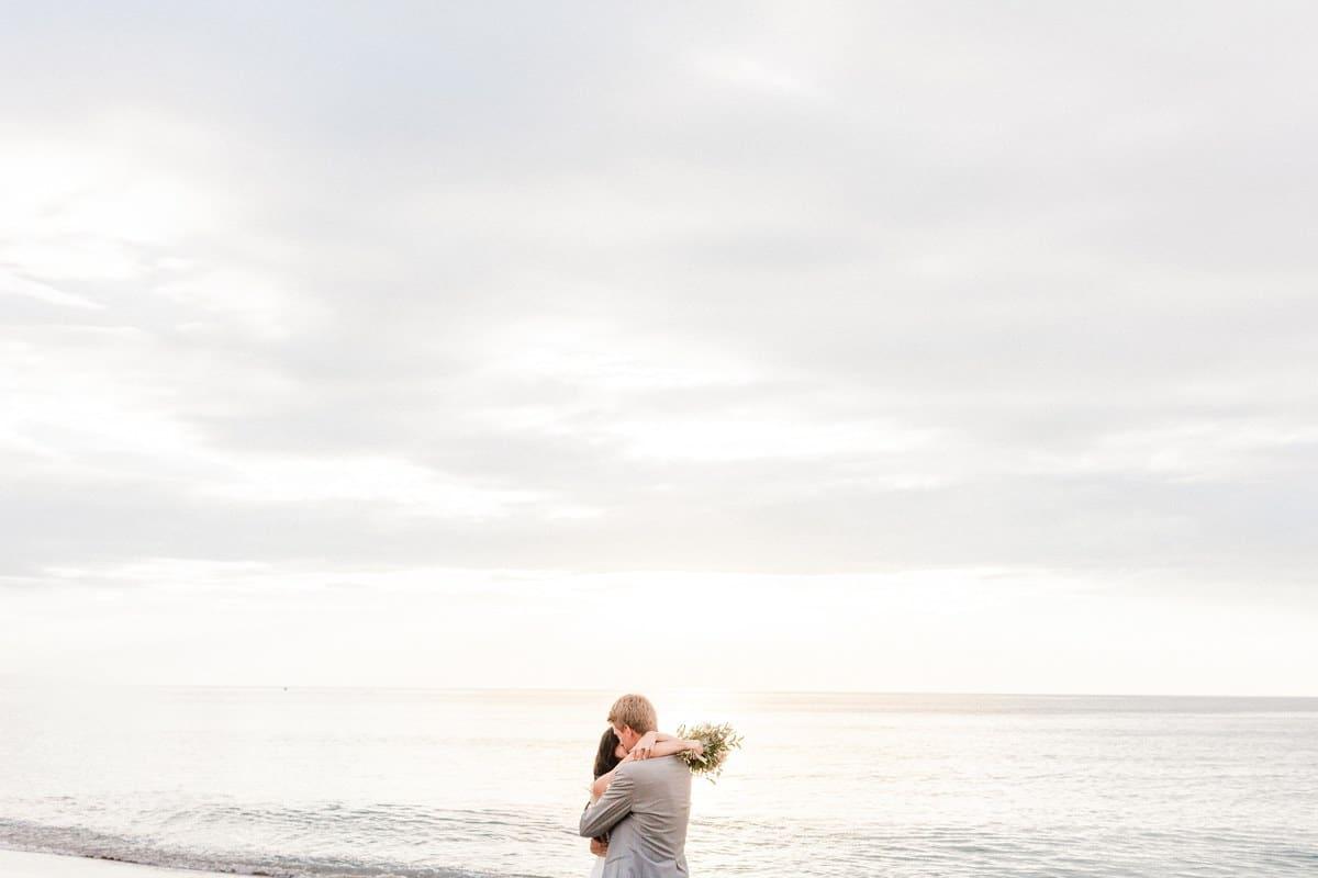 couple sur le sable à Anglet