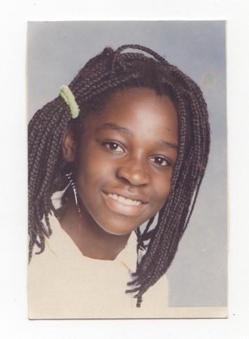 portrait jeune fille noire