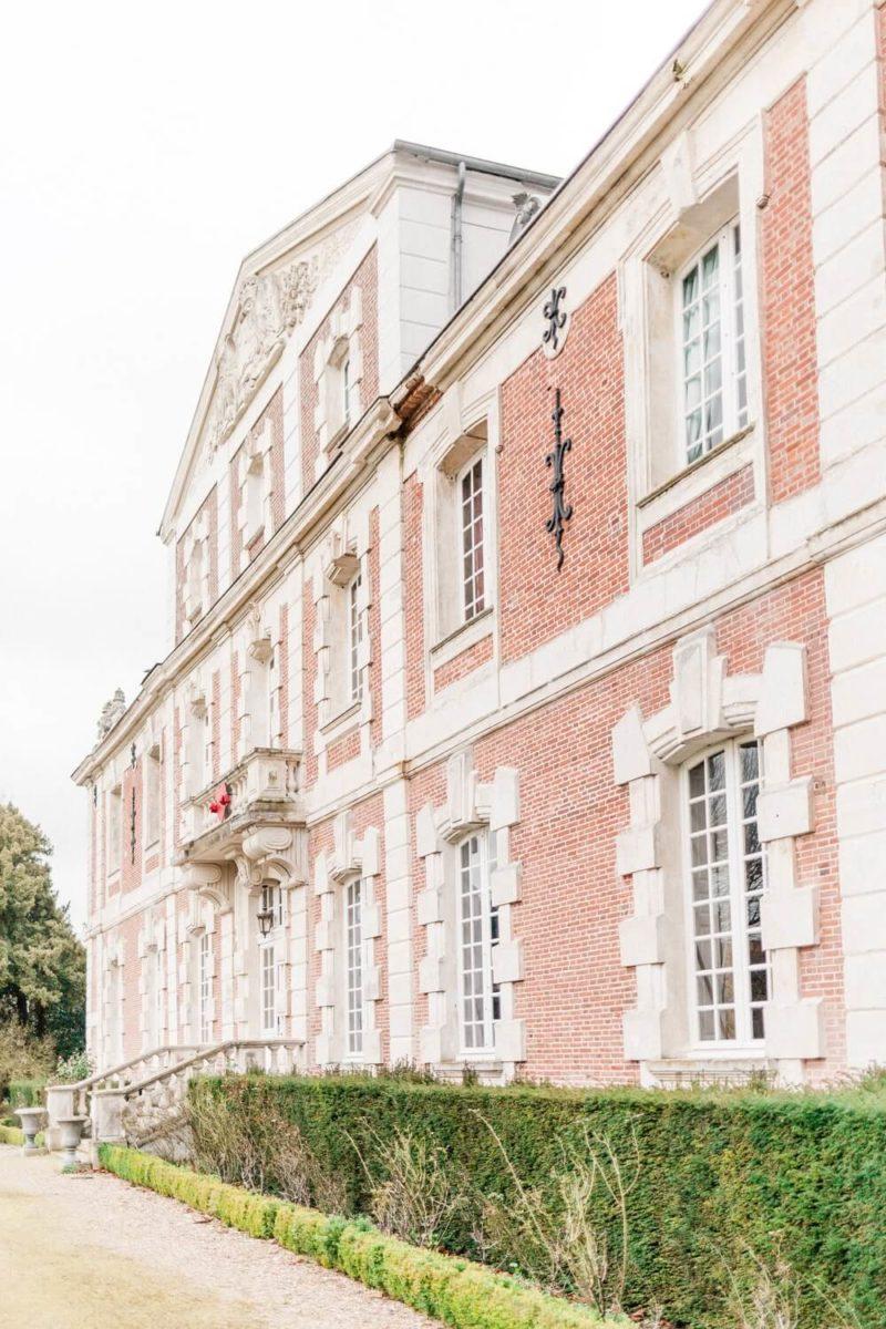 façade du chateau le buisson garembourg