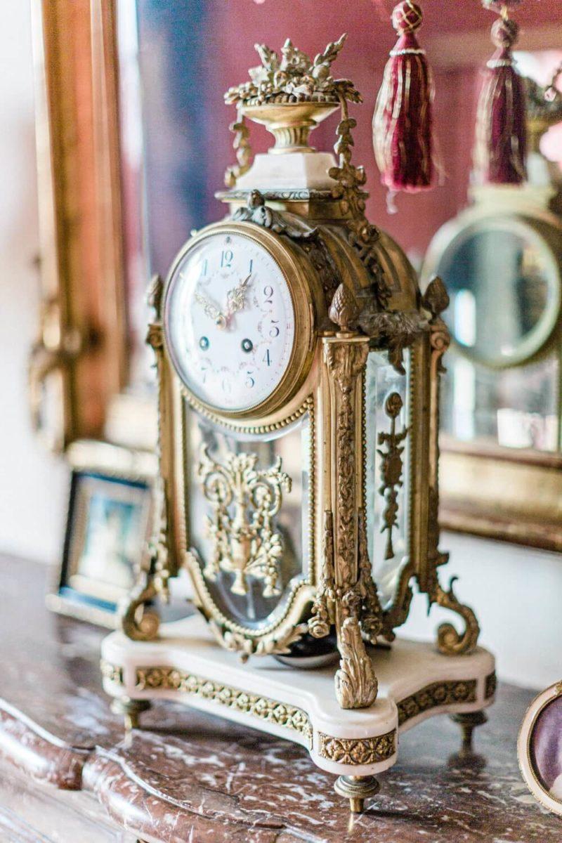 horloge au chateau le buisson garembourg