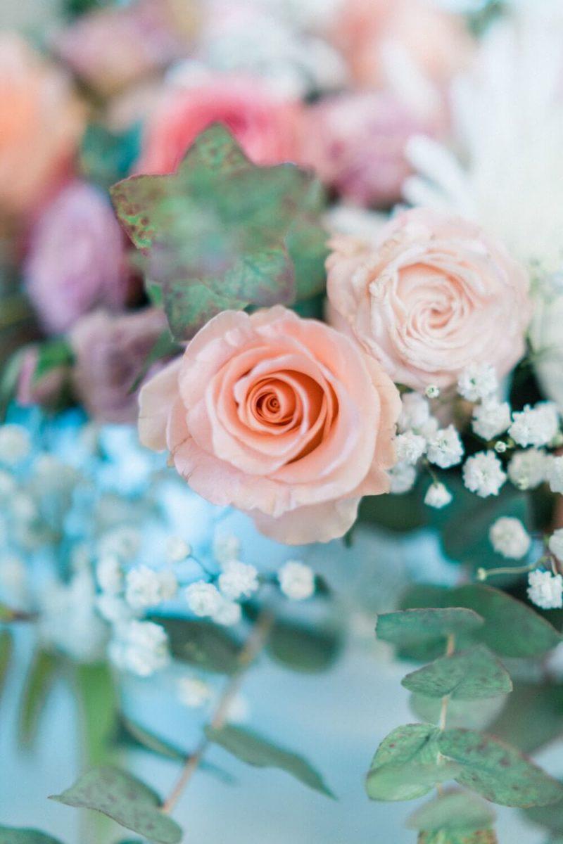 bouquet de fleurs au chateau le buisson garembourg