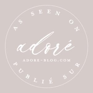 logo blog mariage adoré