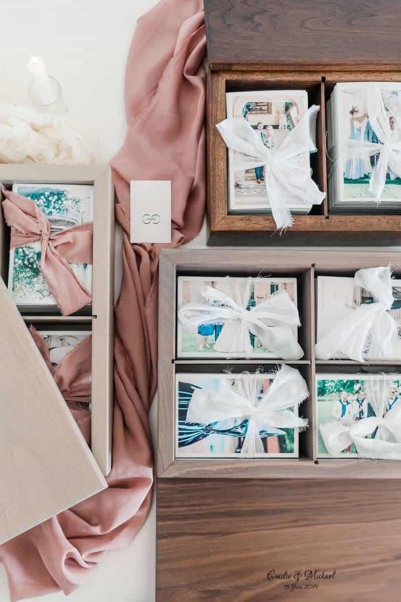wedding photo box