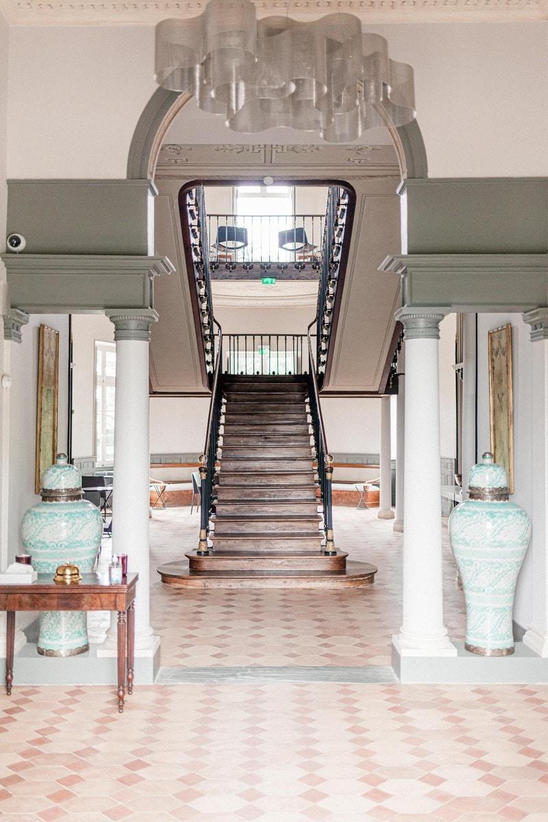 hall d'entrée chateau roquefoulet