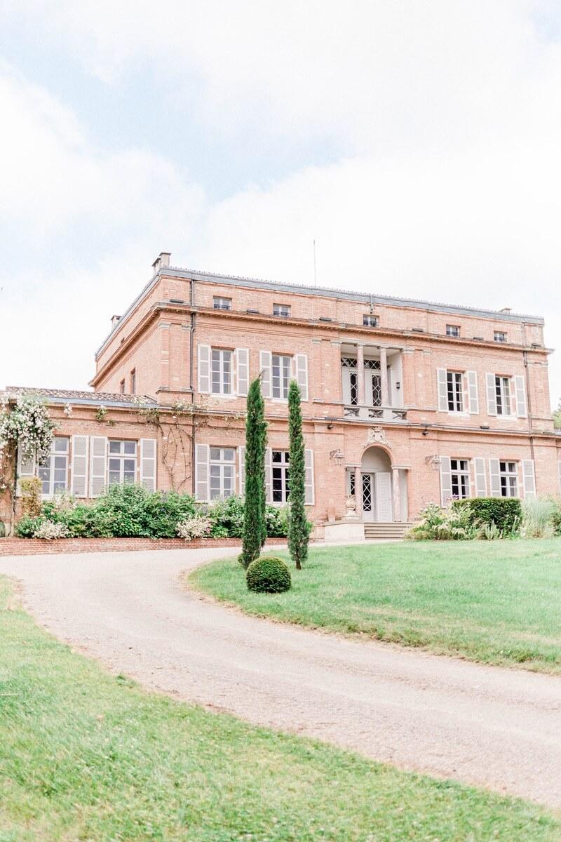 facade chateau roquefoulet