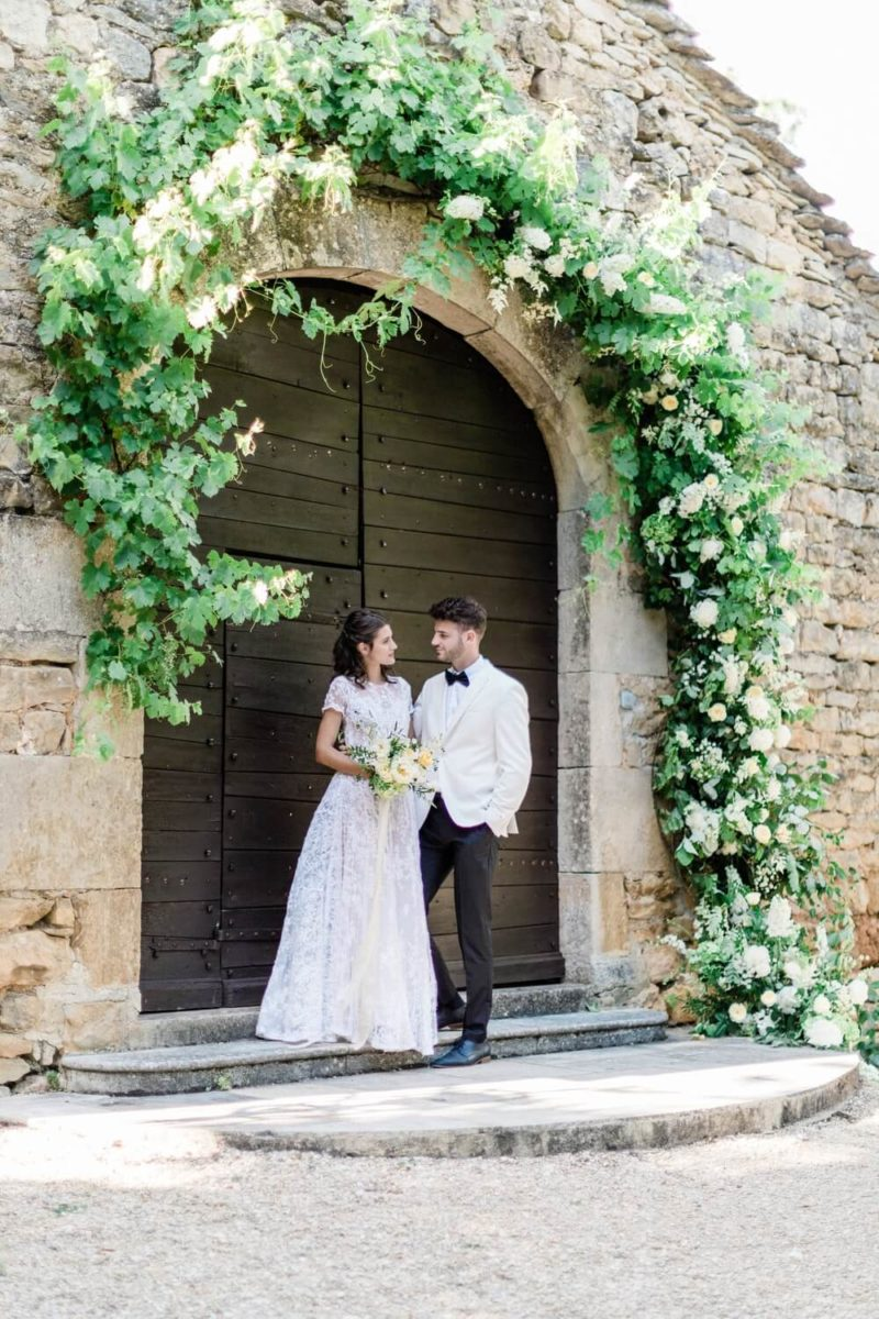 micro wedding au chateau de cas