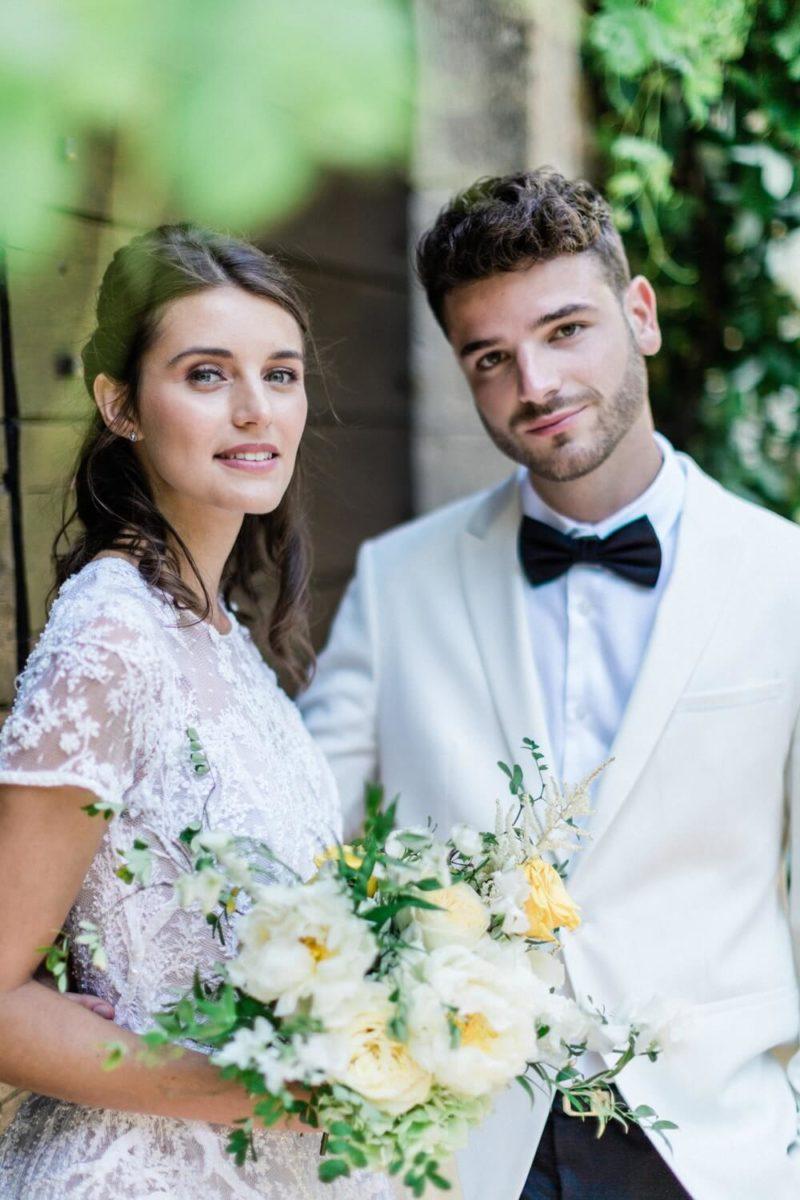micro wedding chateau de cas