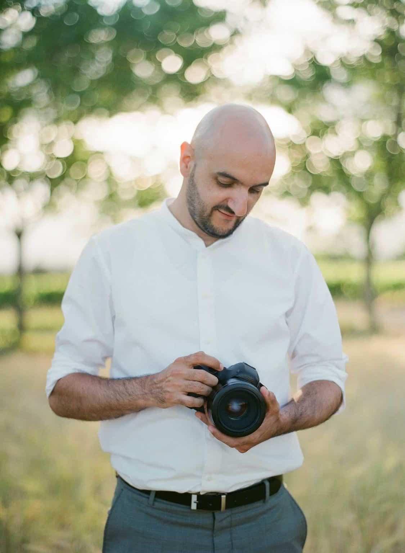 portrait with photographer